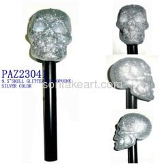 Plastic SKULL MICROPHONE