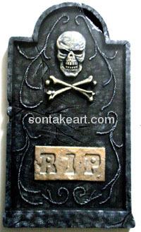 High quality Halloween tombstone