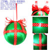 christmas tree decoration--90MM RIBON BALL HANGING