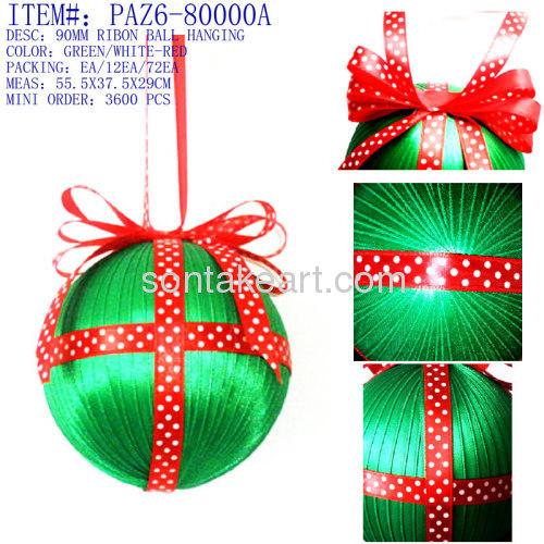 christmas tree decoration--HANGING BALL