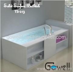 Acrylic Solid Surface Bathtub