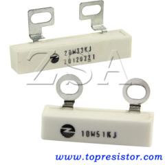 Metal Plate Noninductive Cement Resistor
