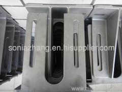 Sand-cast steel castings