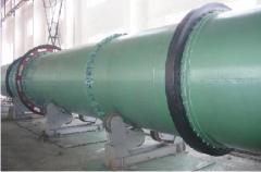 Ore powders rotary drying machine