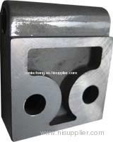 Aluminum casting, casting aluminum casting, copper aluminum casting