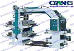 Four Color Screen Printing Machine
