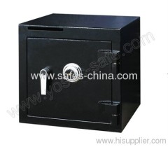 Deposit safes with coin slot