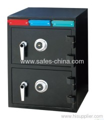 2 door Depository drawer safe