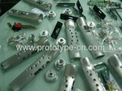 Batch processing precision metal part