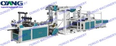 Non Woven Zipper Bag Making Machine