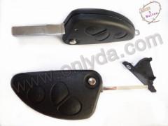 Car key/ remote key shell/ Alfa 3 button remote shell