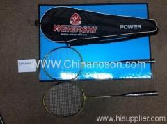 Ferroalloy Badminton Racket