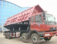 Slide Dump truck