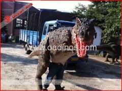 BBC walking with Dinosaur costume