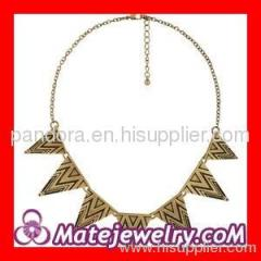 Triangle punk choker necklace Wholesale