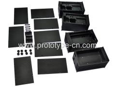 Metal parts batch processing of computer
