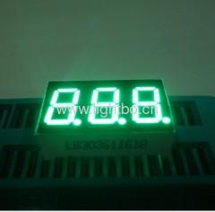 """puro anodo comune verde 3 cifre 0.36 """"a sette segmenti led display"""