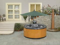 Outdoor Massage bathtub garden spa