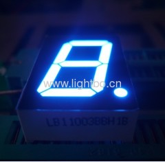 ultra blue 1-inch common anode single digit 7 segment led display