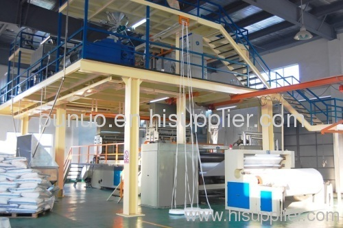 S PP Spunbonded Non woven Machine