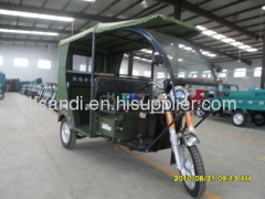Water-proof motor electric tricycle