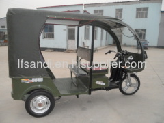 5 Batteries electric passenger tricycle