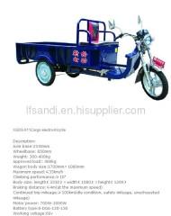 800W-1100w Cargo electric tricycle