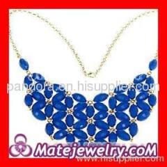 blue J Crew necklace