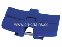 Flat top sideflex chian