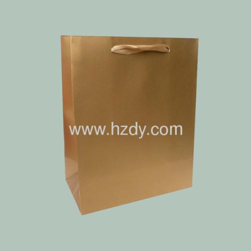 Single color printed paper bag