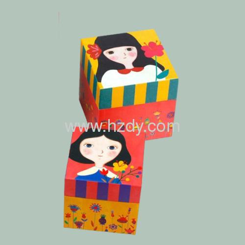 Paper box for wedding sugar