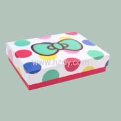 Paper box packaging for gifts