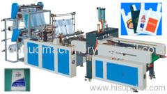 Automatic T_shirt Bag Sealing and Cutting Machine