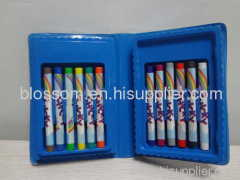 Promotional chinese cheap low price kf crayon stationery set