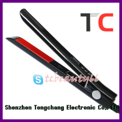 black ceramic flat iron