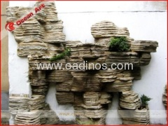 Fiberglass rockery for decoration