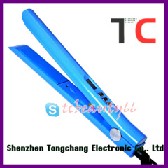 Novelty flat iron hair straightener TC-S105 blue