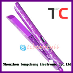 High grade straightener TC-S105 purple water transfer printing