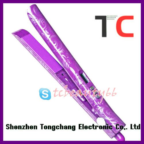 High grade straightener TC-S105 purple water transfer printing
