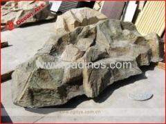 Fiberglass stone