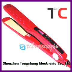 Flat iron nova straighteners TC-S108 red