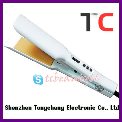 Pro hair straightening machine price TC-S109 white