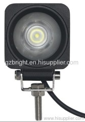10w Cree led work light for jeep, suv ,truck, offroad 10-30V DC