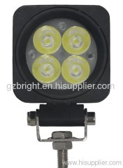 10w led work lamp for jeep, suv ,truck, offroad 10-30V DC