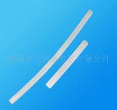 Extruded silicone pipe