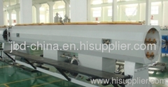 plastic water supply pipe extrusion line