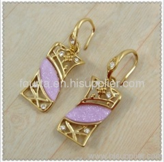 rectangle women earring