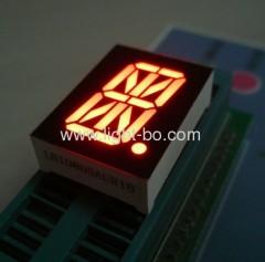 Ultra Bright Red 16-segment 0,8-inch single-digit LED alfanumerieke display