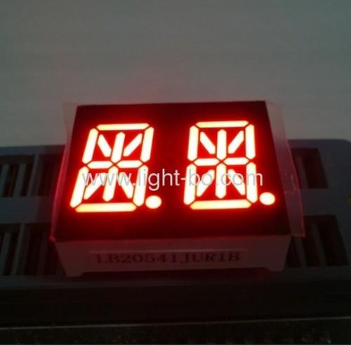 Ultra bright blue Dual Digit 14 Segment Alphanumeric LED Display