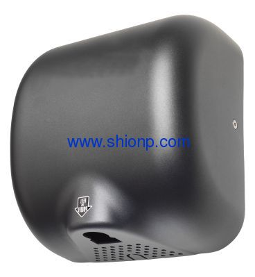 Textured Graphite automatic hand dryer
